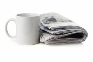 Tasse, Zeitung, Regina Breithecker, Steuerberater, Düsseldorf Unterrath, Steuerliche News