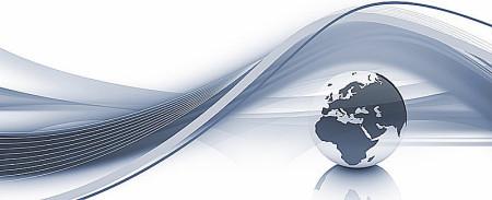 Weltkugel, Regina Breithecker, Steuerberater, Düsseldorf, betreut Mandanten aus dem In- und Ausland